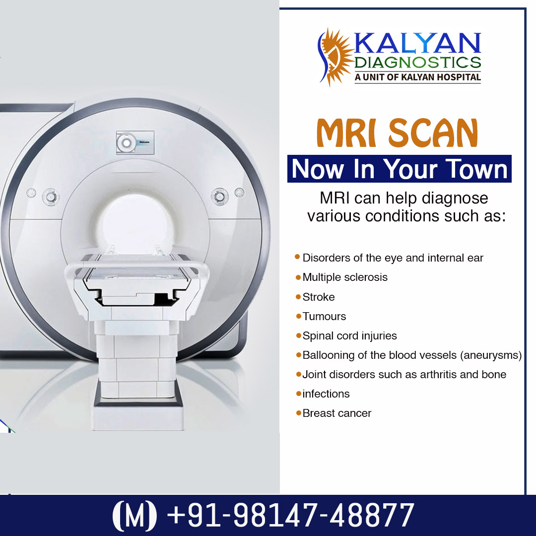 MRI Scan - Kalyan Diagnostics Ludhiana