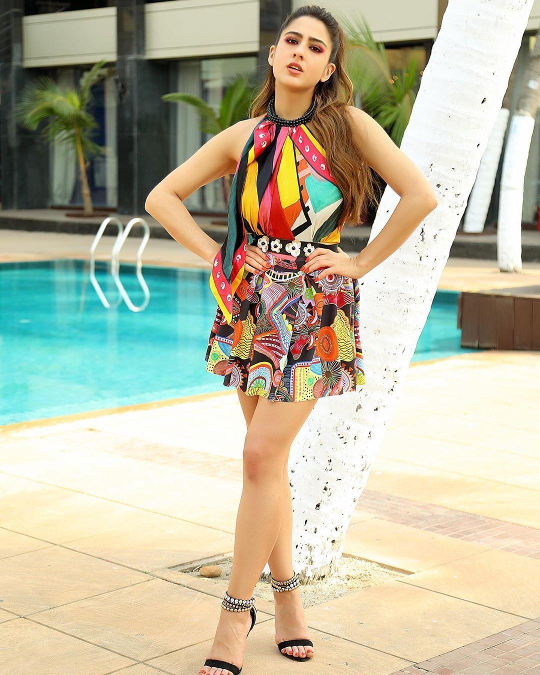 most beautiful Bollywood actresses Sara Ali Khan